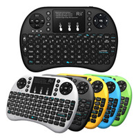 Rii Mini i8+ 2. 4GHz Wireless Keyboard With Touchpad Mouse LE...