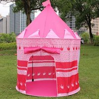 Fashion Tent for Kids Play Game House Princess Prince Castle...