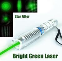 عالية الطاقة العسكرية 5000000 متر 532nm مؤشر الليزر الأخضر مضيا الليزر التركيز الصيد مع قبعات 5 نجوم