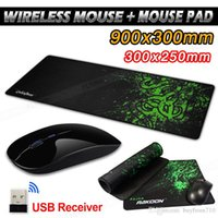 2. 4GHz Slim Wireless Mouse for Laptop PC Mac with Mouse Mat