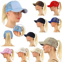 women CC Ponytail Cap Messy High Bun Ponytail Basketball Hat...