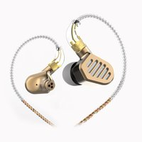 Senfer DT8 2BA+ 2DD Quad Drivers In- Ear Earphones HiFi Wired ...