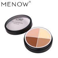 Menow Marque Maquillage Concealer Contour Palette Flawless 4 Couleurs Bare Minérale Cicatrice Concealer Soins Du Visage Couverture Cacher Fondation C14002