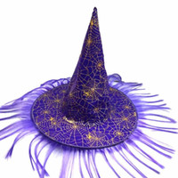 Cosplay Costume Accessories Halloween Hat Witch Hat Fancy Dr...