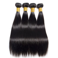 Hot Sale Peruvian Straight Virgin Hair Weaves One Pcs Lot Un...