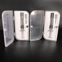 Jig di avvolgimento di iniettore di vetro della borsa della siringa della siringa di alta qualità per i carrelli del vape G2 serbatoio con il segno di misurazione
