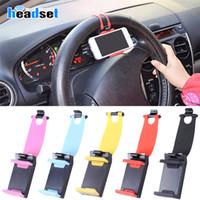 Universal Car STREELING Lenkrad Cradle-Halter SMART-Klipp-Auto-Fahrrad-Halterung für Handy iphone Samsung Handy GPS Weihnachtsgeschenk US07
