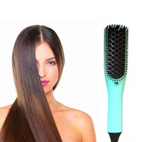 Hot sale electronic maigc hair straightener comb electric st...