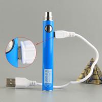 Емкость батареи Vape Pen UGO-V II Аккумулятор 650 мАч С USB Charge Электронные сигареты Wax Испаритель ручки