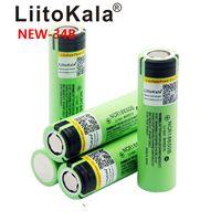 liitokala originale NCR18650B 3.7V 3400 mAh 18650 3400mAh per la batteria al litio ricaricabile Panasonic
