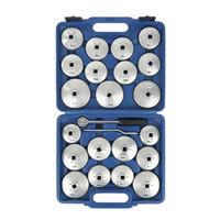 23 Teile / satz Ölfilterkappe Ausbau Schraubenschlüssel Set Ratschenschlüssel Tasse Typ Mit Tragbaren Aufbewahrungskoffer Universal