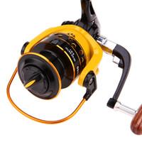 5.1: 1 / 5.2: 1 Relação de Engrenagem De Carretel De Pesca HD1000-7000 Modelo Spinning Carretel Carretel De Alumínio Esquerda Direita Troca De Roda De Peixe Tackle