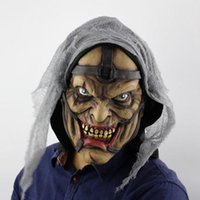 New Funny Full Face Realistic Scary Horror Mask Halloween De...