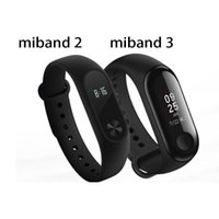 Xiaomi Mi Band 2 3 Miband 2 3 Fitness Tracker Band Message Instantané 5 ATM Étanche OLED Écran Tactile Montre Smart Watch pour Mi