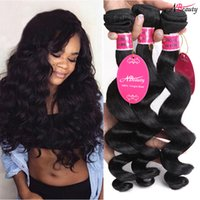 Wholesale Indian Virgin Hair Loose Wave 8A Indian Loose Wave...