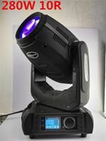Super LED 280W 10r Beam Spot Wash 3 en 1 viga cabeza móvil 280 viga 10r dmx dj etapa iluminación