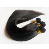 전체 큐티클 정렬 처리되지 않은 브라질 처녀 머리 weft 8-28inch 최고의 품질 밍크 인도 레미 인간 긴 머리카락 연장