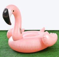 1,5M Hot gonflable Flamingo White Swan giant flotteur piscine tubes Anneau plage Adultes Femmes Hommes Jouets pour Pool Party matelas cosplay
