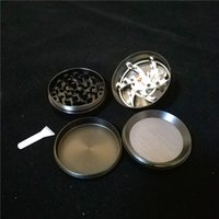 Wholesale Tobacco Herb Grinders 53mm 4 Layers Zicn Alloy Han...
