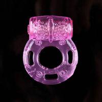 Pipe Silicone Vibrant Penis Bague Bague Bague Bague Bague Jouets sexuels pour vibrateur Male Produits de sexe Jouets adultes vibrateur jouet érotique