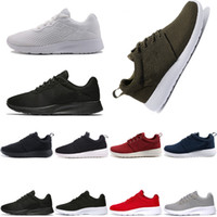 TANJUN Olympic RUN tenis negro blanco Rojo gris Sneakers womens men Deporte, Zapatos para correr womens London nuevo Jogging mens shoe sneaker scarpe