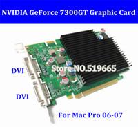 Mac Pro Nvidia GeForce 7300GT 256MB MacProビデオカードのための新しいオリジナルの高品質7300GT 256MB MacProビデオカード1st Genビデオカードには8800GTがあります。