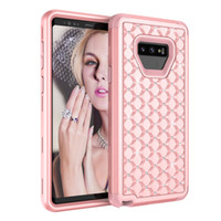 For Samsung Galaxy Note 9 Case Luxury Diamond 3in1 Soft TPU ...