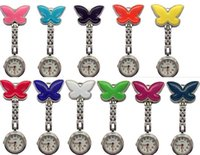 Wholesale 50pcs lot Mix 11colors New NurseWatch Brooches Sil...