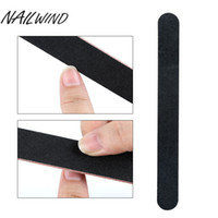 NAILWINDNail File 10Pcs Set Black Nail Art Full Professional...