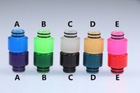 Ecig 510 Mouthpiece Color Changing Epoxy Resin Drip Tip cap ...