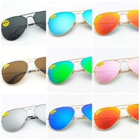 High Quality Classic Pilot Sunglasses Designer Brand Mens Wo...