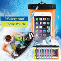 For iPhone XS XR X Waterproof Dry Bag Armband Pouch Case Cov...