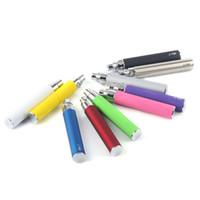 Batterie de l'amour-propre T pour les cigarettes électroniques E-cigarette 650mah 900mah 1100mah pour le fil 510 Ce4 Ce5 MT3 H2