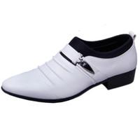 Aushöhlen oxfords formale schuhe herren leder hochzeit schwarz heren schoenen oxford schuhe für männer kleid schuhe 2018 müßiggänger