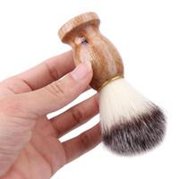 Nueva Badger hombres de pelo Brocha de afeitar del peluquero del salón de los hombres facial Barba limpieza Appliance alta calidad favorable herramienta de afeitar del afeitado Cepillos