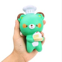 new Cute Chef Bear Soft Cartoon Doll Squeeze Squishy Slow Ri...