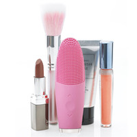 DHL Electric Silicone Facial Cleansing Brush USB Charging Re...