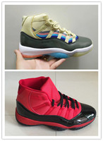 New 11s rainbow XI male low men basketball designer shoes 11...