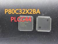 10pcs / lot yeni Entegre Devreler P80C32X2BA 80C32X 8051 PLCC44 stok ücretsiz kargo içinde
