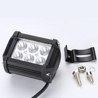 PAMPSEE 4 zoll Flut Spot Beam LED Arbeitslicht Bar Offroad 12 V 24 V 4x4 4WD LED Nebelscheinwerfer Lkw Motorrad Van Traktor Lampe RZR