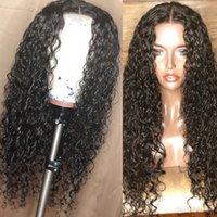 Brasilianische nasse und gewellte Spitze Front Menschliche Haarperücken für Schwarze Frauen Wasserwelle Glueless Volle Spitze Perücken gebleichte Knoten Naturwelle Perücken