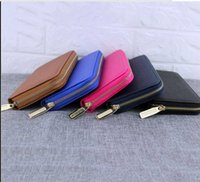 Free Shipping New Woman Selling Pu Single Pull Purse Clutch ...