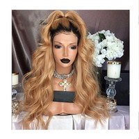 Glueless Full Lace Human Hair Wigs With Baby Hair 150% Brazi...