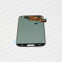 Yüksek Kalite LCD Ekran Dokunmatik Ekran Digitizer Meclisi Yedek Parçalar ile Samsung Galaxy S3 i9300 için S4 i9500 S5 ile i9600 G900 Çerçeve