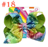 Kids Hair Accessories New JOJO Flip Sequins Gradient 8inch B...