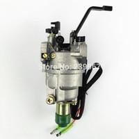 Honda GX270 için karbüratör manuel choke w / solenoid 177F 3.5KW 270cc karbonhidrat 4kw E * 3800 4000 parçaları