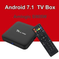 Amlogic S905W TX3 Pro TV Box Android 7. 1 Quad Core Wifi H. 26...