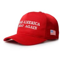 2018 New Make America Great Again Letter Hat Donald Trump Re...