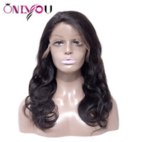 Hottest Peruvian Virgin Human Hair Wigs Body Wave Lace Front...