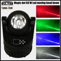 Ayrton super Magic 60W faisceau led tête mobile mini led disco lumière RGBW 4 en 1 led scène lumière